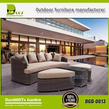 Outdoor pool furniture garden furniture iron day bed wholesale