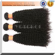 Wholesale Kinky Curl Hair,100% Remy Virgin Human Hair Extension,Brazilian Aliexpress Hair