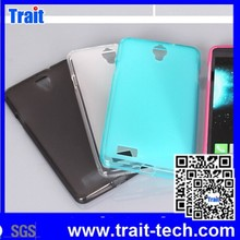 4 Colors Shockproof New Arrived Solid Color Soft Smooth TPU Gel Case for Lenovo A606