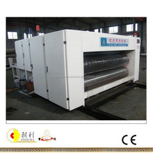 China famous brand high speed printers slotter die cutter