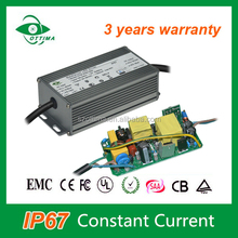 waterproof two stage 50w 100-142v meanwell 350ma led driver with high efficiency