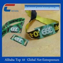 2015 Custom Festival Ribbon Bracele woven wristband