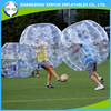 Inflatable bumper ball plastic inflatable body suit