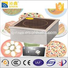 Alta eficiencia de inducción quemador wok eficiencia que quemador de gas por infrarrojos / 5000 w estufa de inducción