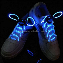 200pcs LED Optical Fiber Flashing Shoelaces,Optical Fiber Glowing Light LED Shoelaces Glow Shoelaces DHL Freeshipping