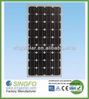 100 Watts 18V Solar Panel Charger for 12V Battery