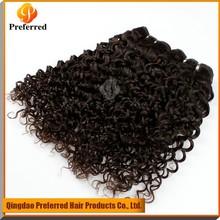 virgin peruvian jerry curl hair weft