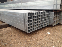 100*100mm galvanized square tube/Carbon steel pipe and MS square tube price list