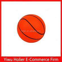 High quality mini basketball shape pu stress ball