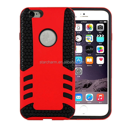 for apple iphone 6 plus 5.5 inch robot armor case for iPhone 6 Rubber Armor shock proof case for iphone 6
