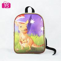 2015 high quality trendy cartoon picture school bag