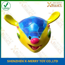 rubber fox Mascot Accoutrement animated Mask