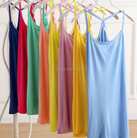 Simplicity Women's Intimate Apparel Sleepwear Adjustable Strap Sex Fashion Girls Camisoles
