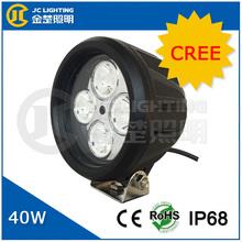 10w high power led 12v led work light, factory price super brilliant round 12v led cree driving lights