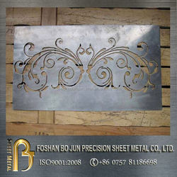 china supplier custom-made iron cast laser cut decoration sheet metal fabrication