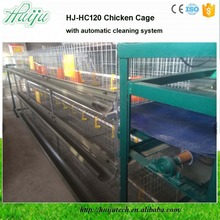 New Arrivals Egg Chicken Cage For Layers High Quality Automatic Cleaning System HJ-HC120