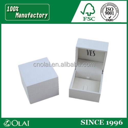 Elegant Special Plastic Ring Package Case