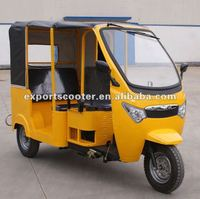 Diesel three wheeler auto rickshaw tricycles for passenger