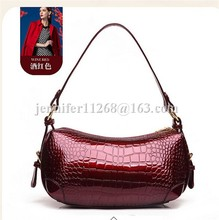 wine metallic popular western handbags/affordable handbags
