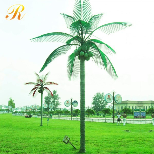Palm tree buy coconut palm tree outdoor lighted palm tree artificial