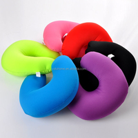 Top quality memory foam round neck pillow