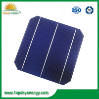 Monocrystalline Silicon Material and 156*156mm Size wholesale Taiwan 6x6 mono solar cells