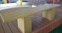 WPC Outdoor Furniture Garden long Bench