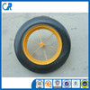 Qingdao manufacturer heavy duty wheelbarrow wheels 14x4 inch solid rubber wheel