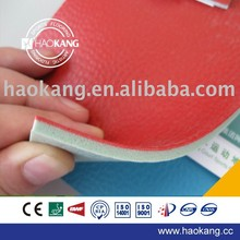Table tennis rubber floor with sponge