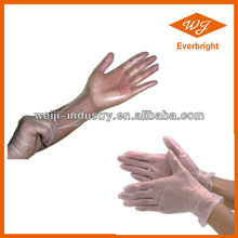 Dispasable PVC hair dying Gloves get CE/ISO Approval powdered / powderfree