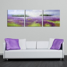 100% handmade flower abstract oil painting on canvas