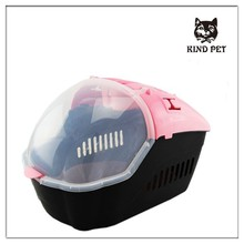 fashion design high quality plastic pet travel carrier for dogs and cats