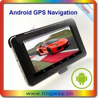 Discount sale gps navigation india with Free Map 800*480 HD Touch screen 7 inch