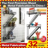2014 practical, space-saving custom steel metal locking shelving