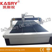Table plasma/oxyfuel cutting machine for metal sheet