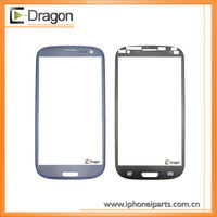 Factory promotion for Samsung Galaxy s3 i9300 Front Glass Replacement,Original Blue