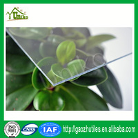 GE lexan uv protected roofing curved bulletproof soundproof anti-drop plastic wall partition polycarbonate sheet