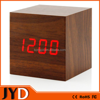 JYD- DAC03 2015 New Digital Wooden LED Alarm Clock, Wooden Digital Table Clocks For Promotion Gift