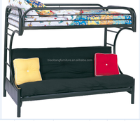 C sofa bed twin-twin bunk bed living room furniture