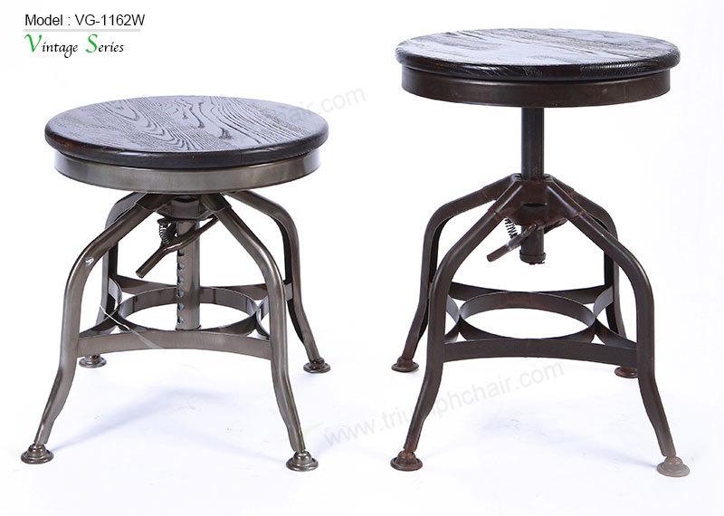 Trionfo del marchio in metallo sgabelli vintage retr for Mobili industriali vintage