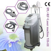 Hottest sale elight/IPL+RF+nd yag Laser multifunction hair removal beauty equipment in America -YH-III