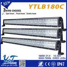 Y&T light bar for snowmobile universal dual row long led light bar for truck and trailer