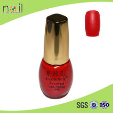 2015 new fashion and safe frosted nail polish