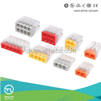 EU2.5-41X 42X Series Quick Connect Terminals Block Spring Strip 2015 UTL Speed Power Electrical Wire Connectors