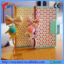 For iPhone 6 Plus Case Flip Wallet Leather Bag Block Design Mix Color,For Apple iPhone
