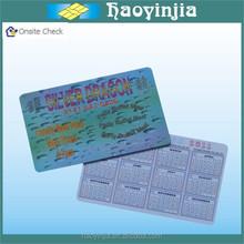 en iyi fiyat yazdırılabilir cep boyutu takvim kartı