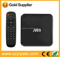 Best M8 Amlogic S802 Android 4.4 tv box quad core smart TV Box china porn