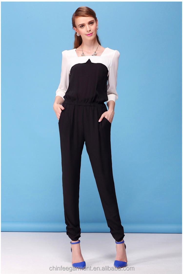 Designer Fashion Women Jumpsuit Lady Formal Jumpsuits View Formal Jumpsuits Chinfee Product ...