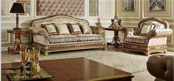 0062 royale meubles canapé classique de meubles de maison ...