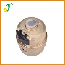 Volumetric rotary piston gold color LXH-15S-40S water meter